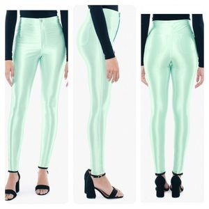 New American Apparel Disco Pant Menthe